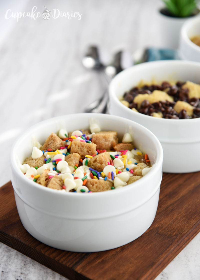Bread pudding is so easy to make in the microwave! Make in single servings for a quick and easy treat the whole family will love.
