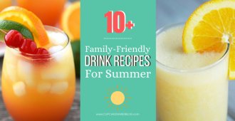 You're going to love these delicious and refreshing drink recipes for the whole family to enjoy this summer!
