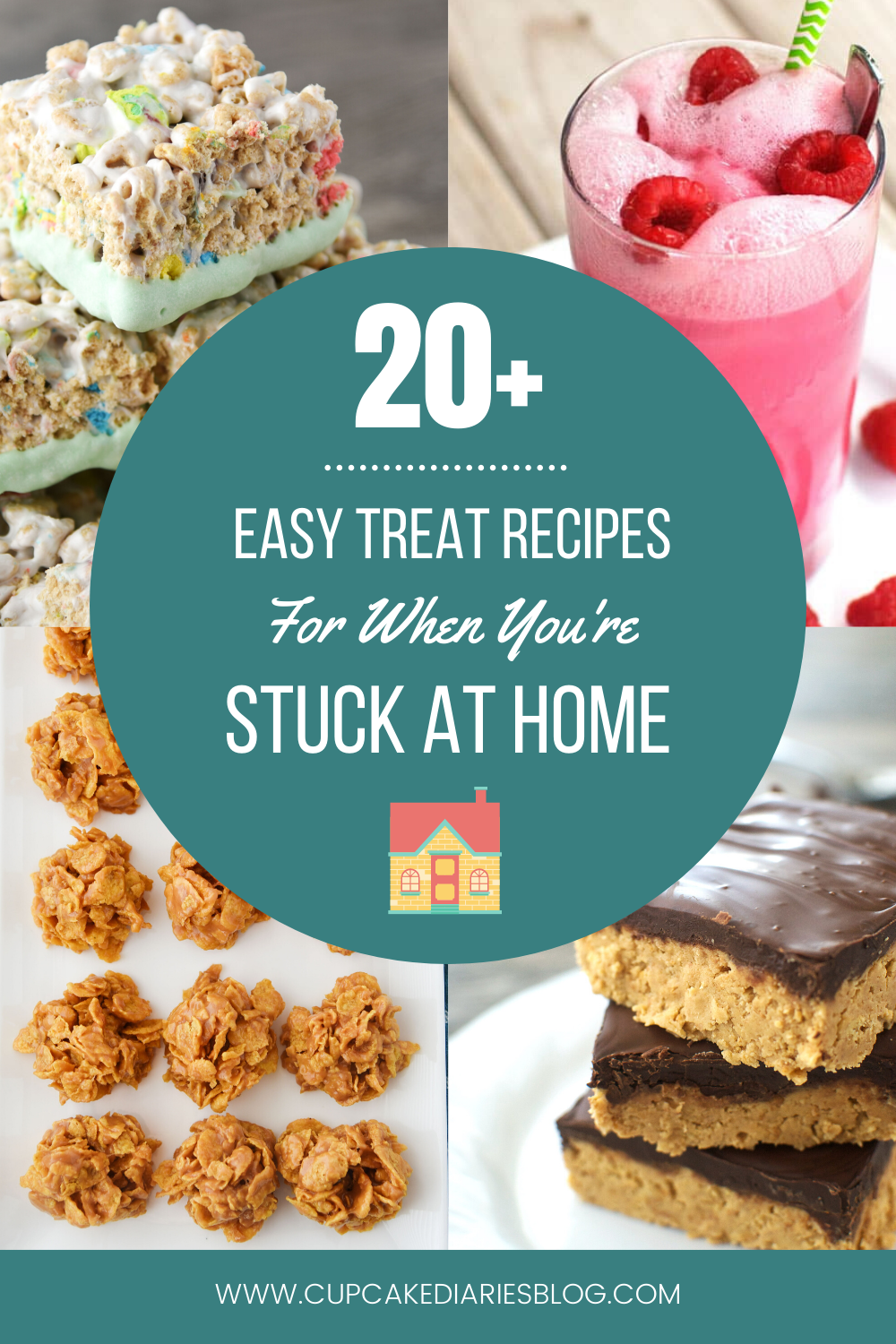 More than 20 easy treat recipes to make while you are stuck at home!